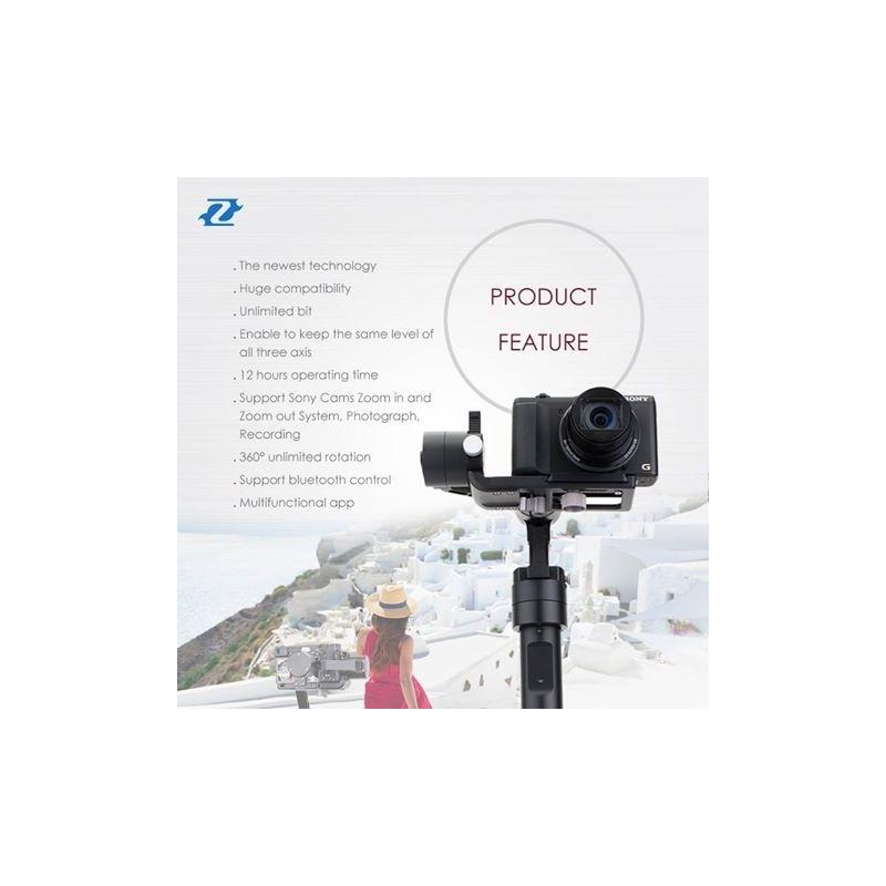 Zhiyun Tech Crane-M gimbal for gopro, systemkamera og mobil