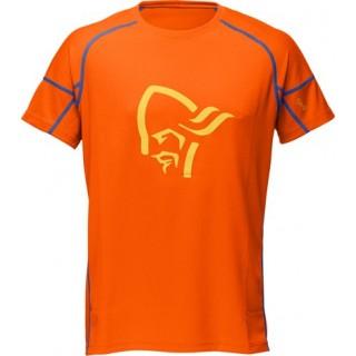 Norrøna Fjørå Equaliser T-Shirt sykkeltrøye Magma