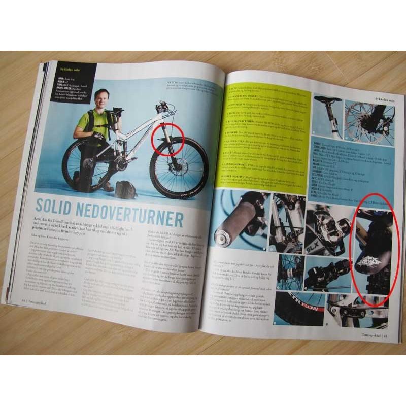 Bender Fender 2.0 sykkelskjerm i Terrengsykkel