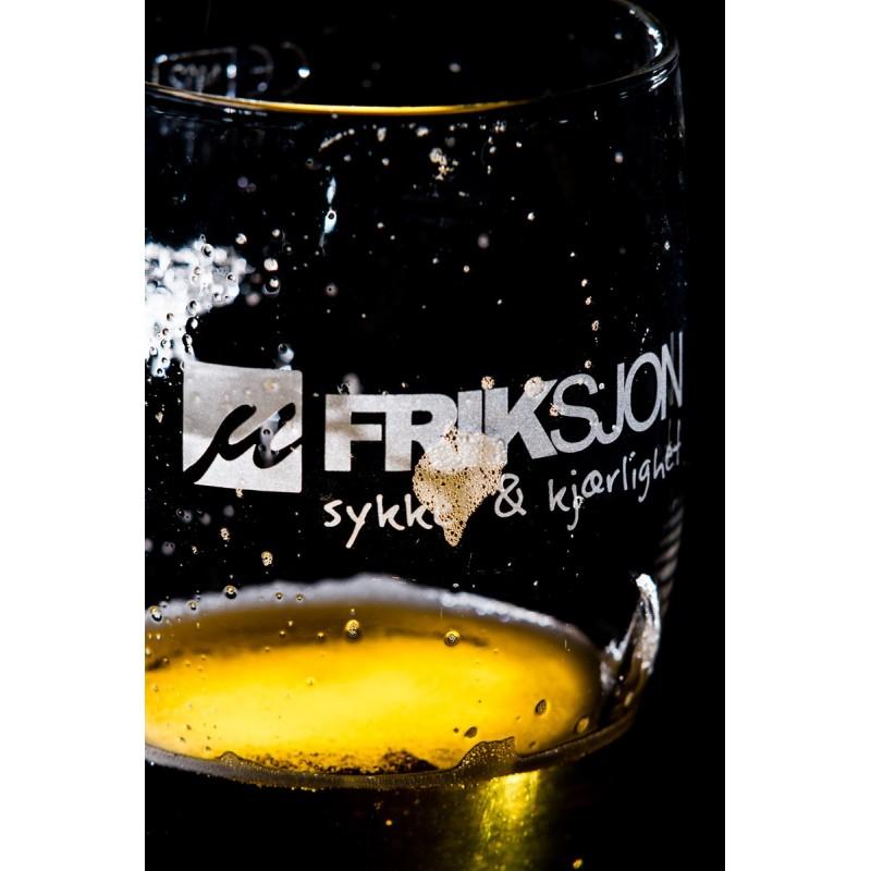 Friksjon ølglass. Øl, mmm...