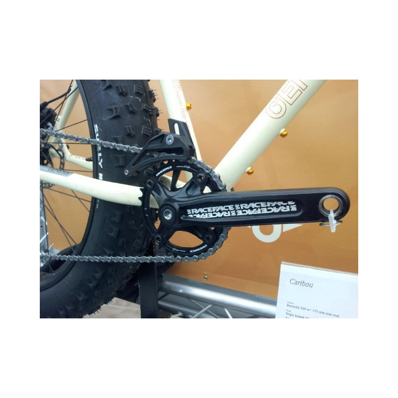 Genesis Caribou fatbike - drivverk fra RaceFace