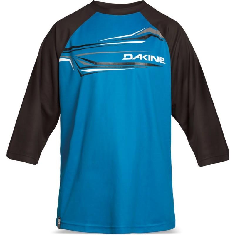 Dakine Dropout 3/4 Jersey i blå/svart