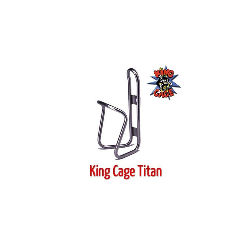 King Cage flaskeholder i titan